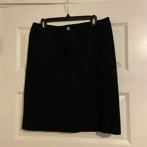 Weekend MaxMara black skirt- 10